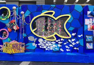 海南省军区幼儿园海南泡沫城市雕塑项目