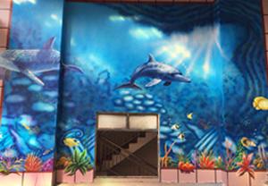 三亚海鲜市场海南彩绘项目